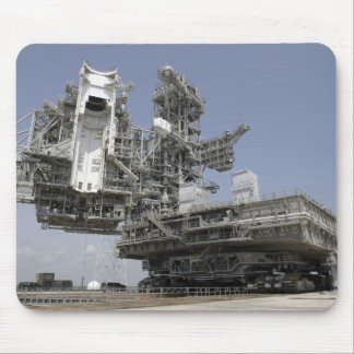 The mobile launcher platform is being moved mouse pad