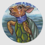 THE MOCK TURTLE Alice in Wonderland Sticker
