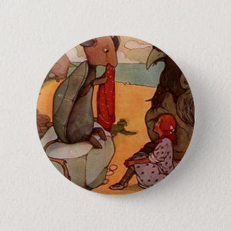 The Mock Turtle Pinback Button