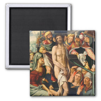 The Mocking of Christ Fridge Magnet