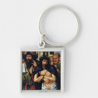 The Mocking of Christ (oil on panel) (see 165461 f Keychain
