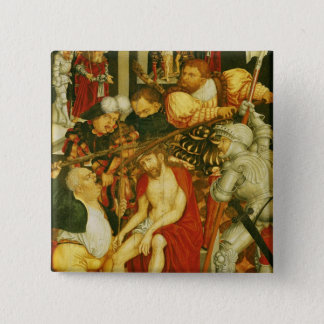 The Mocking of Christ Pinback Button