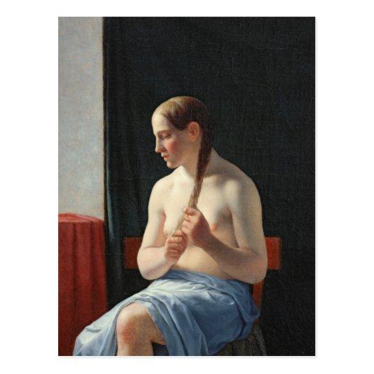The Model, 1839 Postcard
