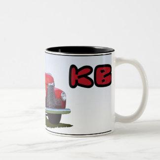 The Model KB Two-Tone Coffee Mug