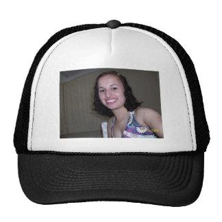 the model´s mesh hats
