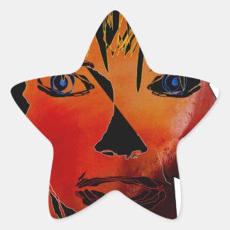 The model star sticker