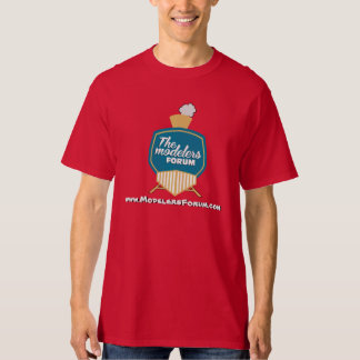 The Modelers Forum T in Red T Shirt