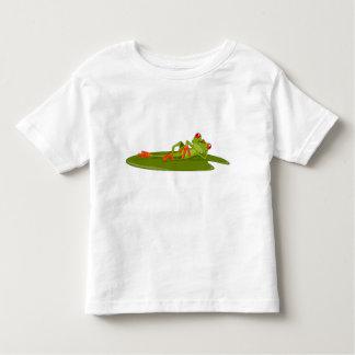 The Modeling Frog (Tree Frog) Toddler's Toddler T-shirt