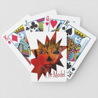 The modelo baraja cartas de poker