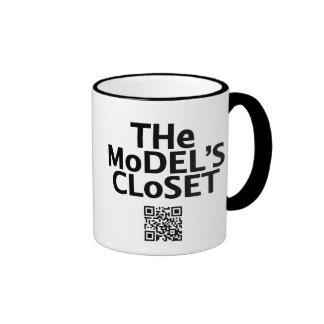 The Model's Closet JavaCup Ringer Mug