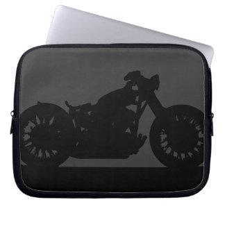 The modern bikers laptop computer sleeves