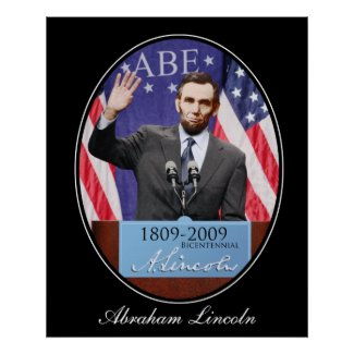 The Modern Day Abraham Lincoln print