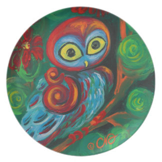 The Modern Owl Plates