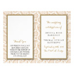 The Modern Paisley Wedding Collection - Brown Personalized Flyer