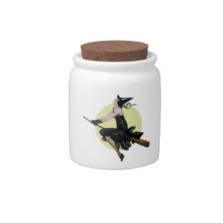The Modern Witch Candy Jar