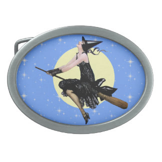 The Modern Witch Oval Belt Buckle