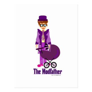The Modfather! Post Card