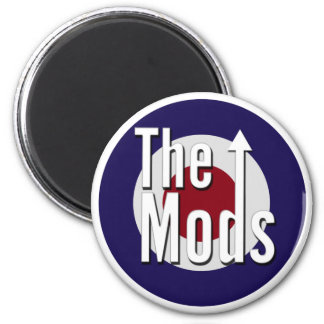 The Mods 2 Inch Round Magnet