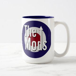 The Mods Two-Tone Coffee Mug