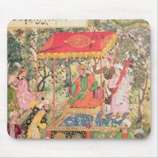 The Mogul Emperor Babur receives the envoys Uzbeg Mouse Pad
