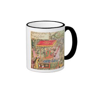 The Mogul Emperor Babur receives the envoys Uzbeg Coffee Mug