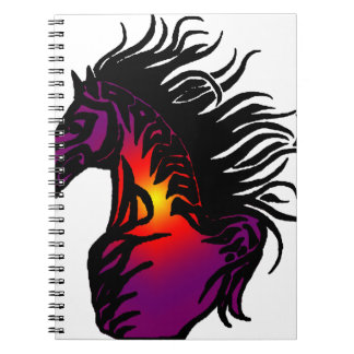 THE MOJAVE HORSE SPIRAL NOTE BOOK