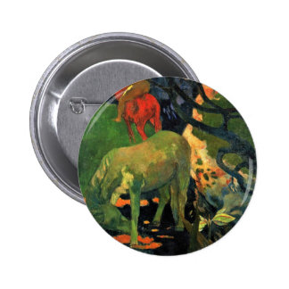 The Mold By Gauguin Paul (Best Quality) Pinback Button