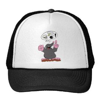 The mole has bad mood trucker hat