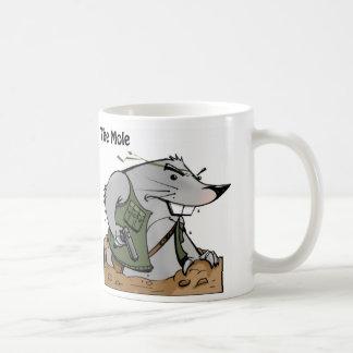 The Mole Molon Labe Mug