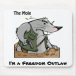 The Mole Outlaw Mouse Pad
