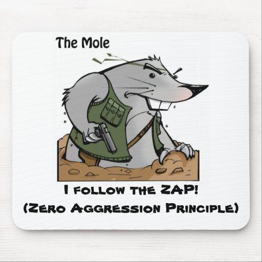 The Mole ZAP Mousepad