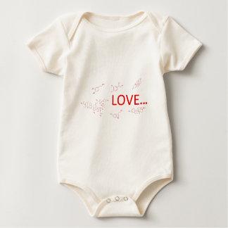 The Molecules of Love... Baby Bodysuit