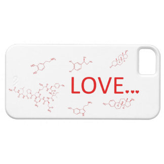 The Molecules of Love... iPhone 5 Case