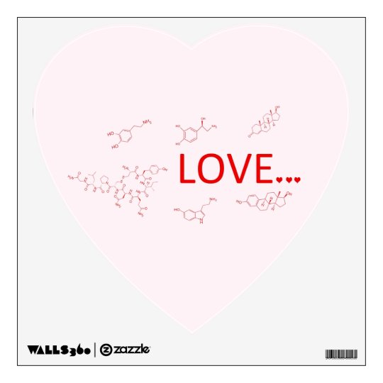 The Molecules of Love... Wall Decal