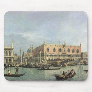 The Molo and the Piazzetta San Marco, Venice (oil Mouse Pad