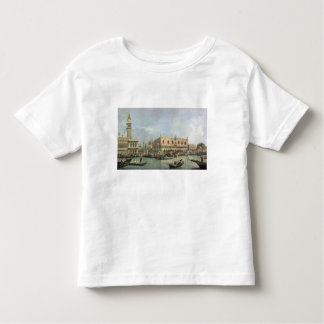 The Molo and the Piazzetta San Marco, Venice (oil Toddler T-shirt