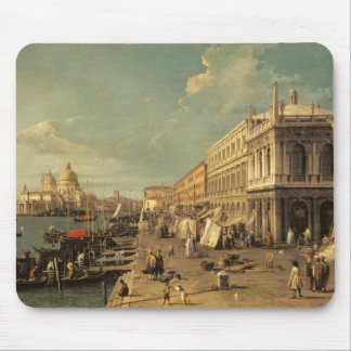 The Molo and the Zecca, Venice (oil on canvas) Mouse Pad