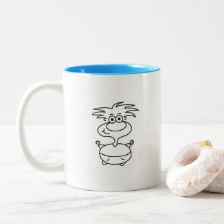 The Moment Mug. Two-Tone Coffee Mug