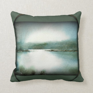The Moment of Peace Throw Pillows