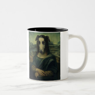The Mona Fleasa Two-Tone Coffee Mug