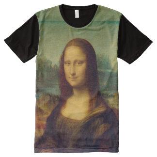 The Mona Lisa By Leonardo Da Vinci All-Over Print Shirt