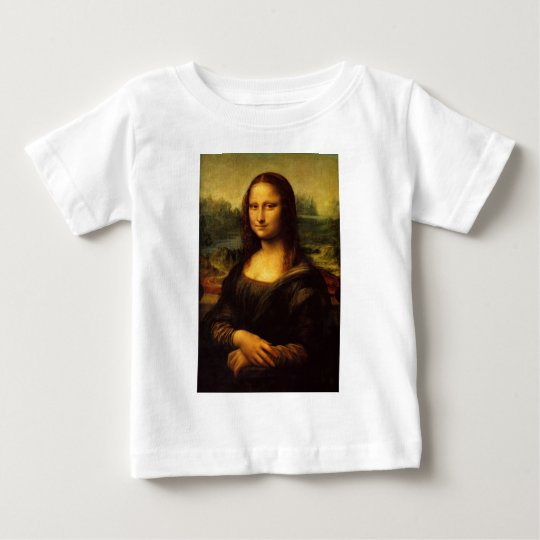 The Mona Lisa by Leonardo Da Vinci c. 1503-1505 Baby T-Shirt