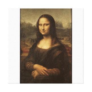 The Mona Lisa by Leonardo Da Vinci c. 1503-1505 Canvas Print