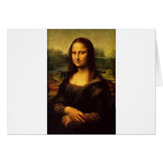 The Mona Lisa by Leonardo Da Vinci c. 1503-1505 Card