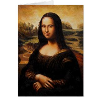 The Mona Lisa by Leonardo Da Vinci Cards