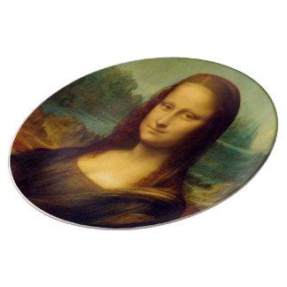 The Mona Lisa By Leonardo Da Vinci Dinner Plate