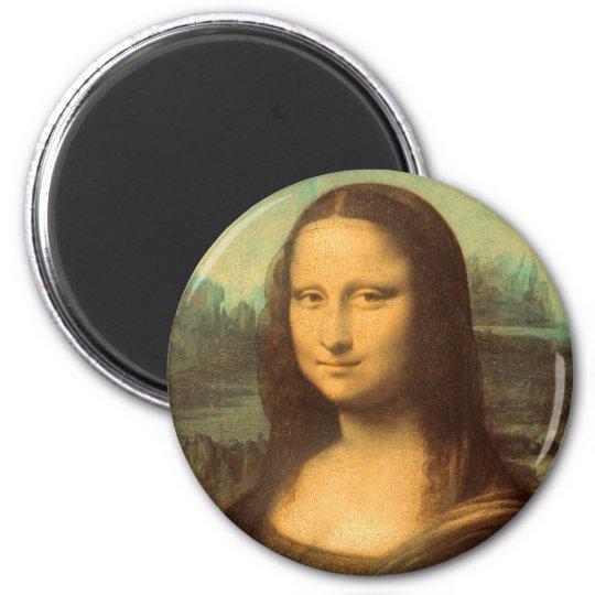 The Mona Lisa by Leonardo da Vinci Magnet
