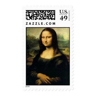 The Mona Lisa by Leonardo Da Vinci Stamps