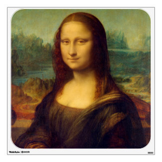 The Mona Lisa By Leonardo Da Vinci Wall Decal