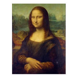 The Mona Lisa La Joconde by Leonardo Da Vinci Postcard
